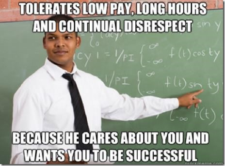 Good Guy High School Teacher