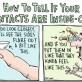 Instructional Contact Lenses Comic