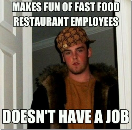 Jobless Douchebag