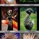 Lady Gaga designer inspiration