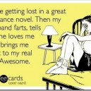 Love getting lost in romantic novels