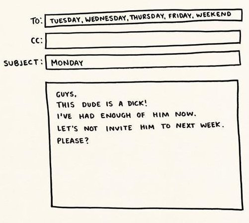 Letter About Monday