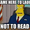 My reaction to seeing a post more than 10 words