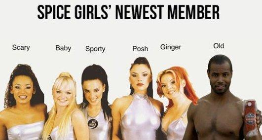 Spice Girls' New Member