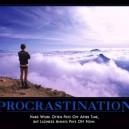 Motivational Posters – Procrastination
