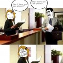 Receptionist Trolled