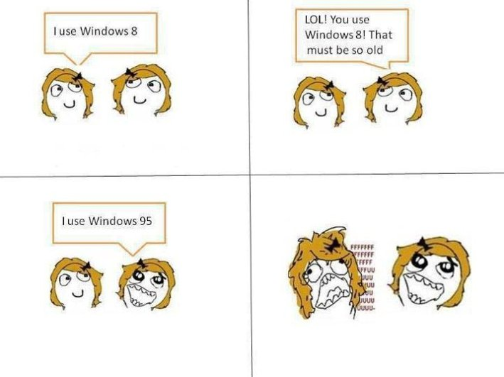 I Use Windows 8!