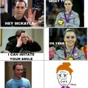 Sheldon Cooper vs. McKayla Maroney