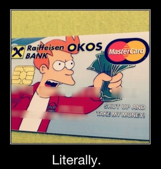 Awesome Credit Card