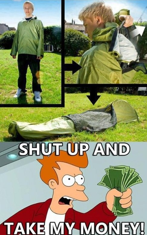 Awesome Tent-Jacket