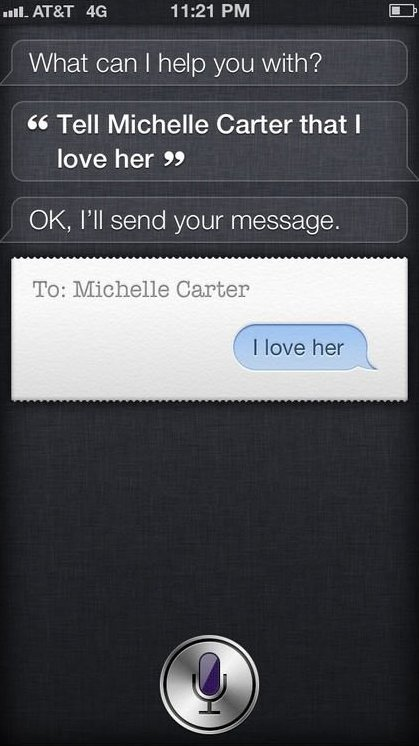 Siri ruined my hope for a relationship