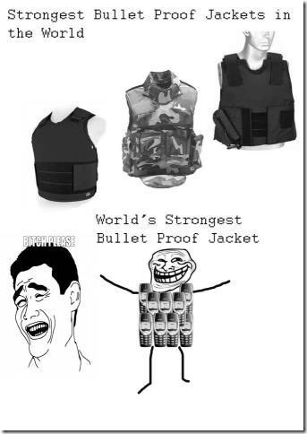 Strongest Bullet Proof Jacket in the World