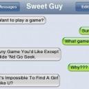 Kinda sweet…