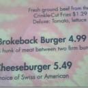 The Brokeback Burger
