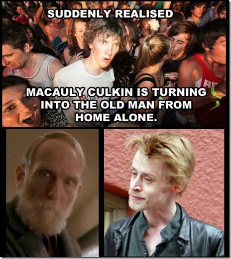 The Home Alone kid is a time traveler!