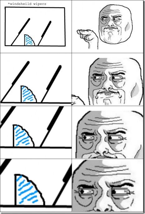 The Windshield Wiper Rage