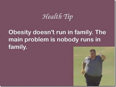 The Problem With Obesity