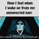 Waking Up From My Unexpected Nap