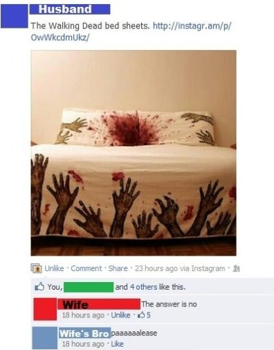 Walking Dead Bed Sheets