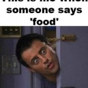 When Someone Says Food
