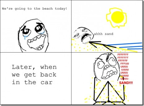 The Worst Thing About The Beach