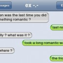 Funny SMS – Romantic Walk