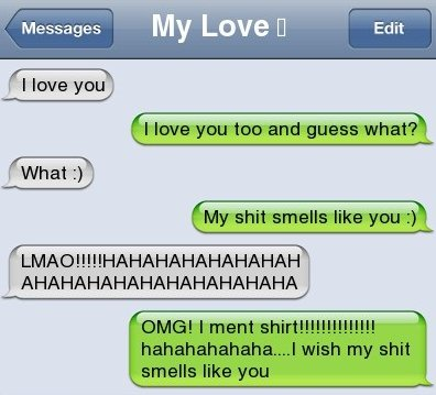 Funny Text Message – Smell