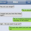 Funny Text – Wanna Go Out?