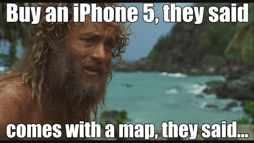 Buy an iPhone 5, they said…