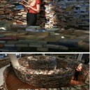 A maze made of books