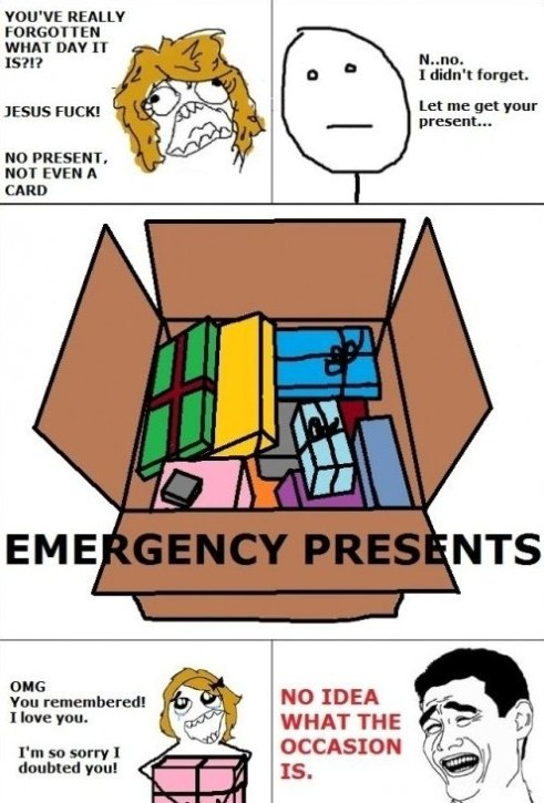 Advantage of Emergency Gifts