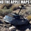 Found The Apple Maps Car!