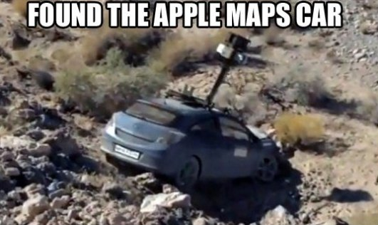 Found The Apple Maps Car!