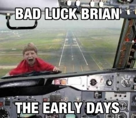 Bad Luck Brain Early Days