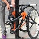 Because locking a bike is just too mainstream