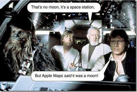 But Apple Maps Said So!