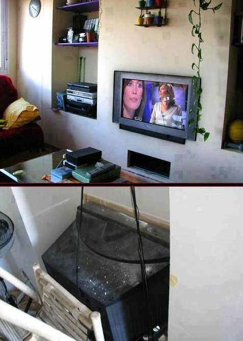 DIY Flat Screen TV
