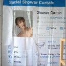 Epic Social Shower Curtain