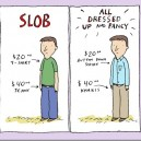 Slob vs. Well Dressed