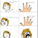 Finger Nail Rage!