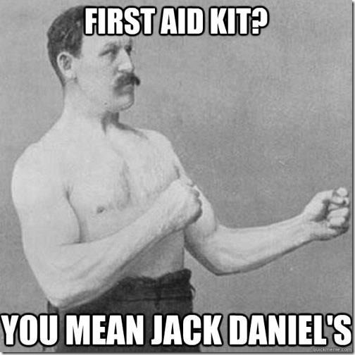 First Aid Kit?