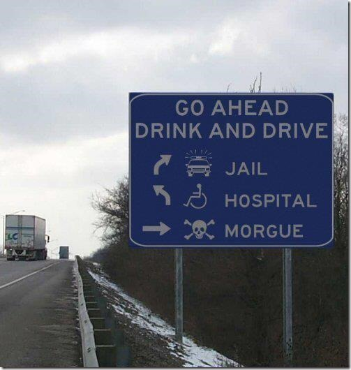 Go Ahead… Drink and Drive!