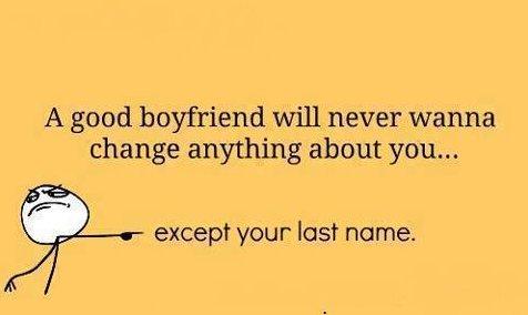 A Good Boyfriend