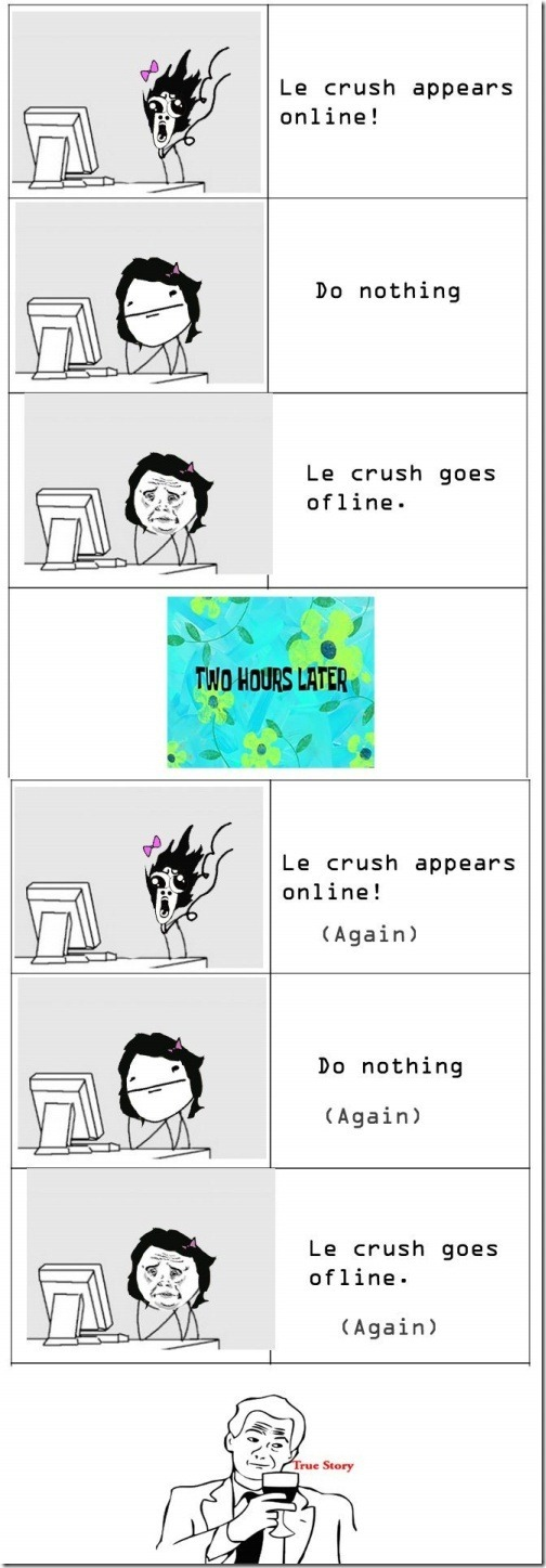 Le Crush Appears Online