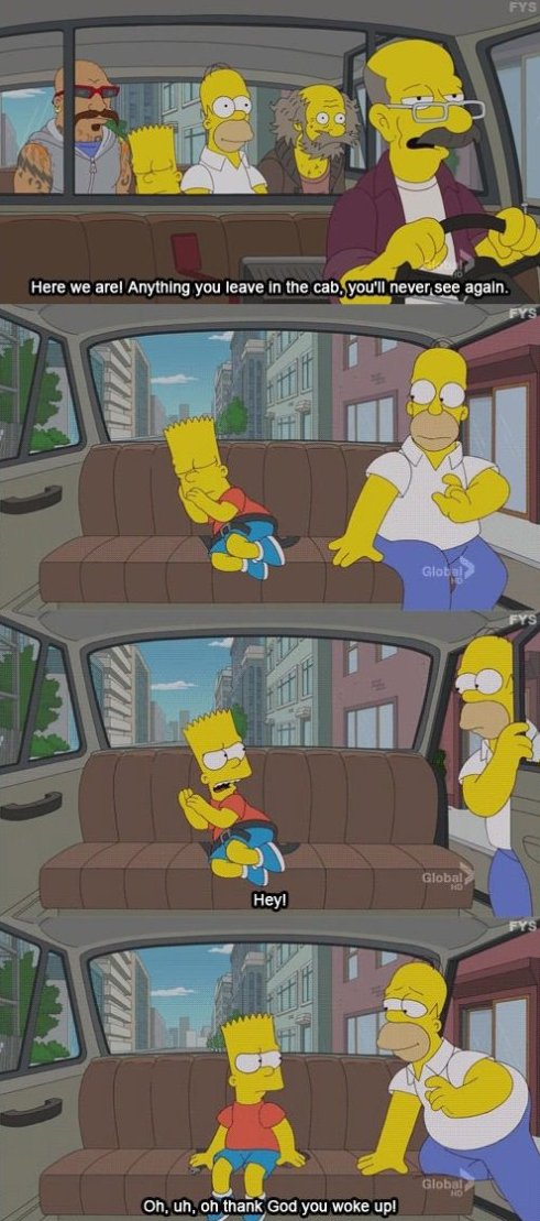 Homer Simpson is awesome as usual