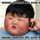 How many pizzas do you want