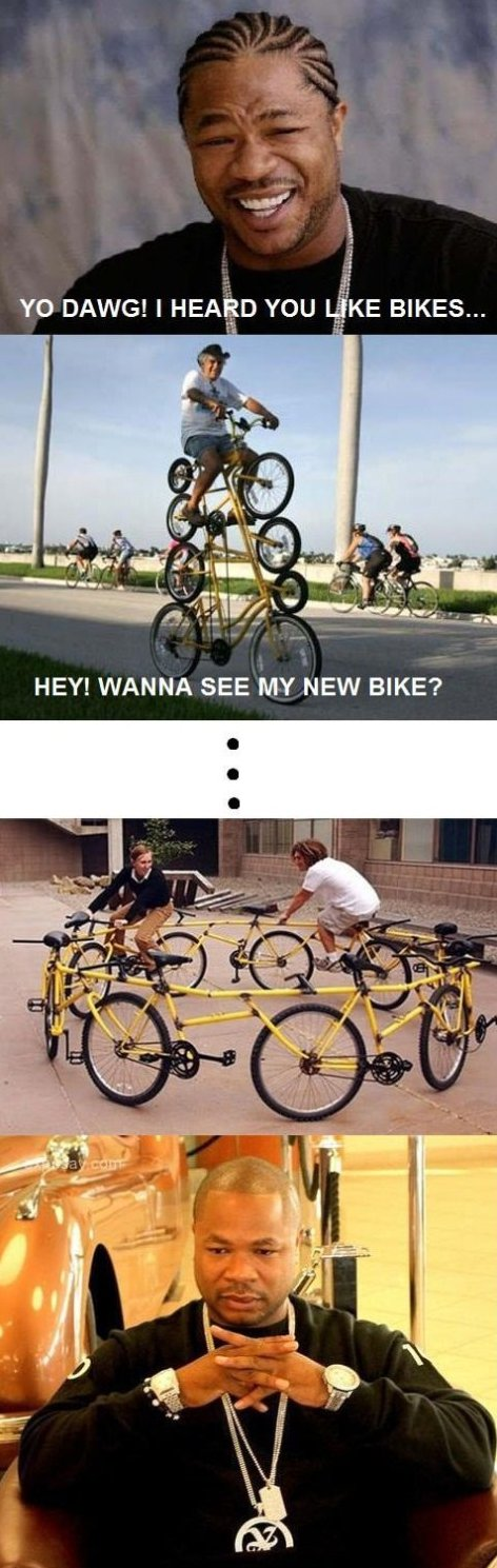 I heard you like bikes