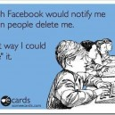 I wish Facebook would…