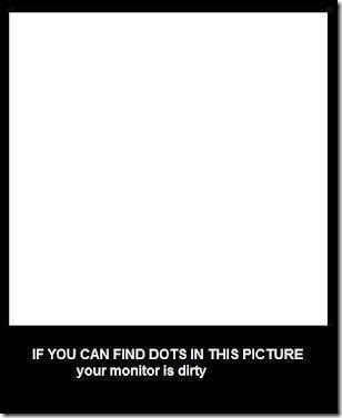 If you can find dots in this picture…