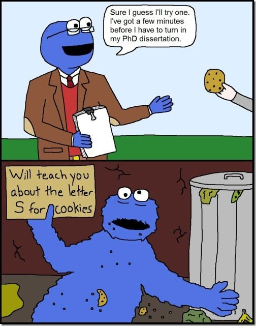 Just one cookie they said…